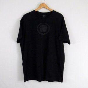 General Motors Cadillac Logo Black T Shirt 2XL